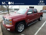 2014 Victory Red Chevrolet Silverado 1500 High Country Crew Cab 4x4 #125453386