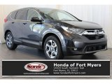 2018 Gunmetal Metallic Honda CR-V EX #125478826