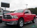 2014 Flame Red Ram 1500 SLT Quad Cab 4x4 #125508386