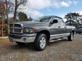 2002 Graphite Metallic Dodge Ram 1500 SLT Quad Cab 4x4 #125521360