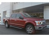 2018 Ruby Red Ford F150 XLT SuperCrew 4x4 #125521225