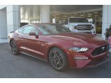 2018 Ruby Red Ford Mustang GT Premium Fastback #125521222