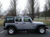 2017 Billet Silver Metallic Jeep Wrangler Unlimited Sport 4x4 RHD #125521168