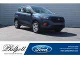 2018 Blue Metallic Ford Escape S #125534196