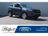 2018 Blue Metallic Ford Escape S #125534195
