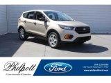 2018 White Gold Ford Escape S #125534194