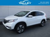 2016 White Diamond Pearl Honda CR-V Touring AWD #125534033