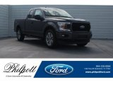 2018 Magnetic Ford F150 XL SuperCab #125534178
