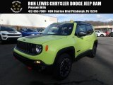 2017 Hypergreen Jeep Renegade Trailhawk 4x4 #125534220