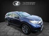 2017 Obsidian Blue Pearl Honda CR-V LX AWD #125534119