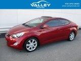2013 Red Hyundai Elantra Limited #125534027