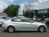 2007 Titanium Silver Metallic BMW 3 Series 328i Sedan #12506019