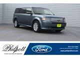 2010 Steel Blue Metallic Ford Flex SE #125534202