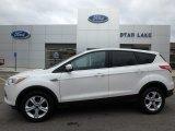2015 White Platinum Metallic Tri-Coat Ford Escape SE #125564086