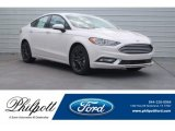 2018 White Platinum Ford Fusion SE #125563962