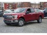 2018 Ruby Red Ford F150 XLT SuperCab 4x4 #125563902