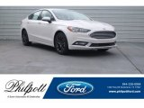 2018 White Platinum Ford Fusion SE #125563961