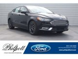 2018 Shadow Black Ford Fusion SE #125563960