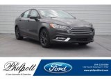 2018 Magnetic Ford Fusion S #125563959