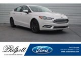 2018 White Platinum Ford Fusion SE #125563957
