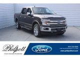 2018 Magma Red Ford F150 Lariat SuperCrew 4x4 #125563953