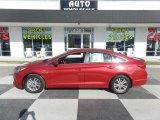 2017 Scarlet Red Hyundai Sonata SE #125563986
