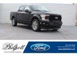 2018 Shadow Black Ford F150 XL SuperCrew #125597906