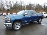 2018 Deep Ocean Blue Metallic Chevrolet Silverado 1500 LTZ Crew Cab 4x4 #125597827