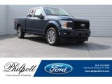2018 Blue Jeans Ford F150 XL SuperCab #125597917
