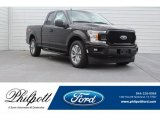 2018 Magma Red Ford F150 XL SuperCab #125597916