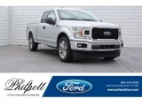 2018 Ingot Silver Ford F150 XL SuperCab #125597914