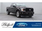 2018 Magma Red Ford F150 XL SuperCab #125597912