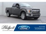 2018 Magnetic Ford F150 XLT SuperCab #125597909