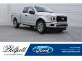 2018 Ingot Silver Ford F150 XL SuperCab #125597908