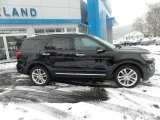 2016 Shadow Black Ford Explorer Limited 4WD #125597755