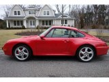 1998 Porsche 911 Guards Red