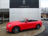 2017 Race Red Ford Mustang EcoBoost Premium Convertible #125622188