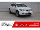2014 Pearl White Nissan Murano S #125622229