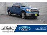 2012 Blue Flame Metallic Ford F150 XLT SuperCrew #125622227