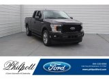 2018 Magma Red Ford F150 XL SuperCab #125622223