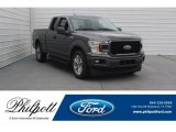2018 Magnetic Ford F150 XL SuperCab #125622222