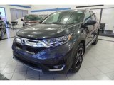 2018 Gunmetal Metallic Honda CR-V Touring AWD #125622326