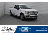 2018 Oxford White Ford F150 XLT SuperCab #125622221