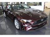2018 Ford Mustang Royal Crimson