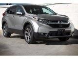 2018 Lunar Silver Metallic Honda CR-V EX-L #125644851