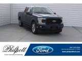 2018 Blue Jeans Ford F150 XL SuperCab #125644922