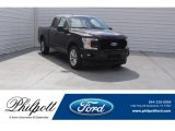 2018 Magma Red Ford F150 XL SuperCab #125644921
