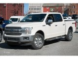 2018 White Platinum Ford F150 Lariat SuperCrew 4x4 #125666538