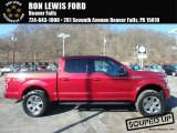 2018 Ruby Red Ford F150 XLT SuperCrew 4x4 #125683671