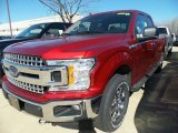 2018 Ruby Red Ford F150 XLT SuperCab 4x4 #125683856